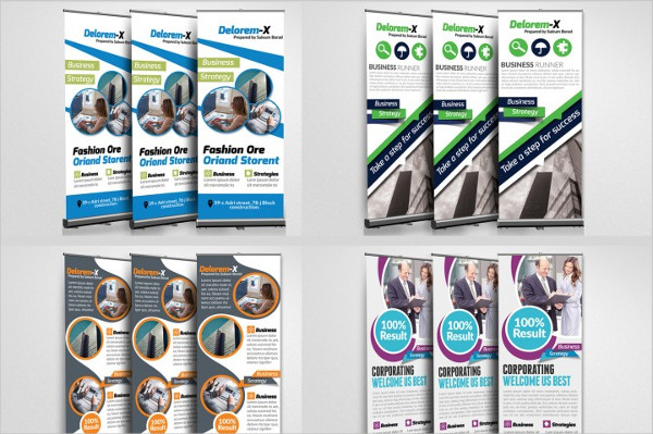 10 Business Roll Up Banners Bundle