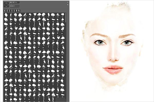 245 Artistic Photoshop Brushes