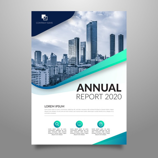 Abstract Annual Report Template Free