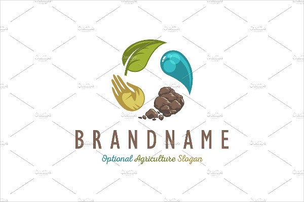 Agriculture Transformation Logo Template