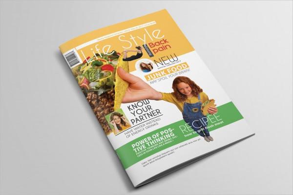 Amazing Lifestyle Magazine Template