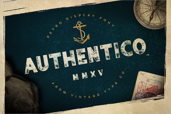 Authentico Display Font