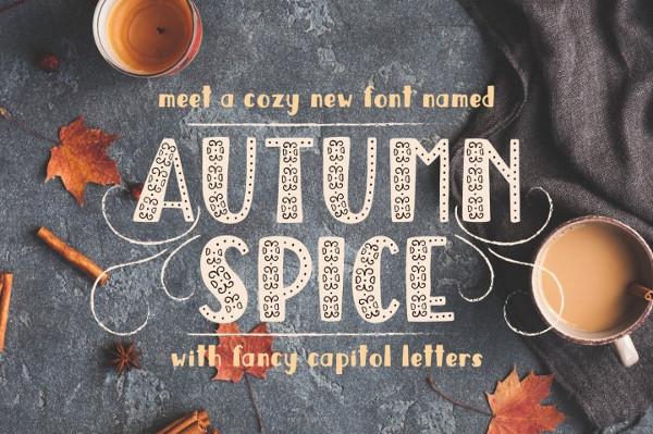 Autumn Spice Display Font