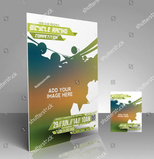 Bicycle Racing Competition Flyer Template