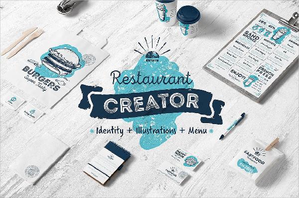 Cafe and Restaurant Identity Creator