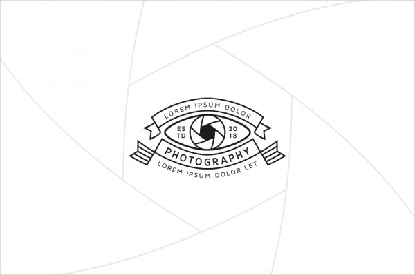 Camera Eye Logo Template