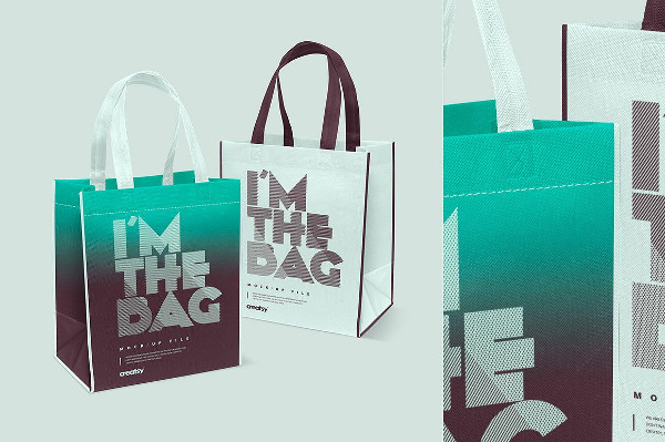 Canvas Bag Mockup Set