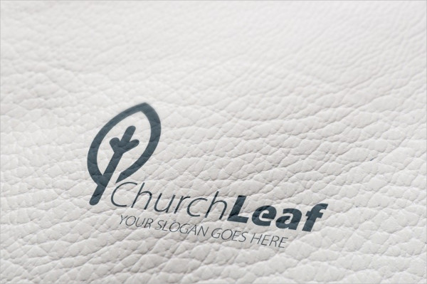Church Leaf Logo Template