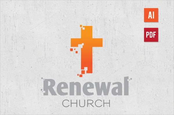 Church Ministry Logo Design Template