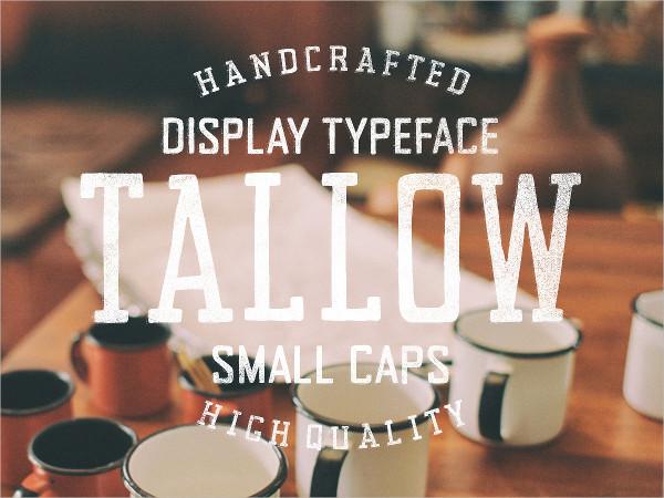 Tallow Display Font Family