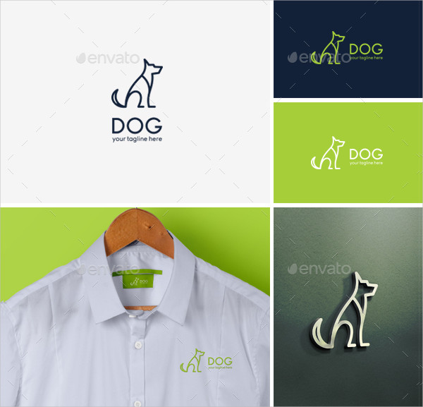 Clean Pet Logo Design