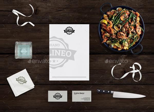 Clean Restaurant Branding Mockups