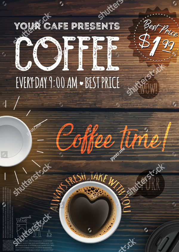 Coffee Break Flyer Template
