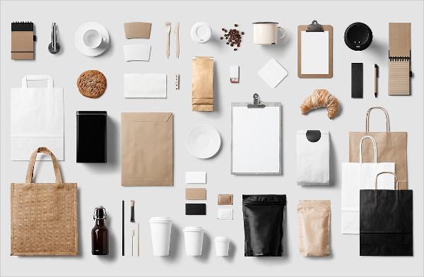 Coffee Stationery Branding Mock-Ups