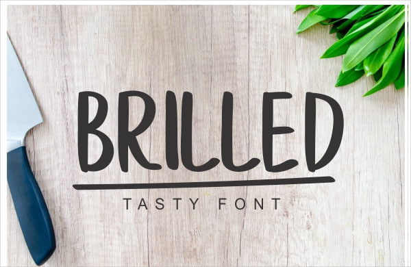Cool Brilled Display Fonts