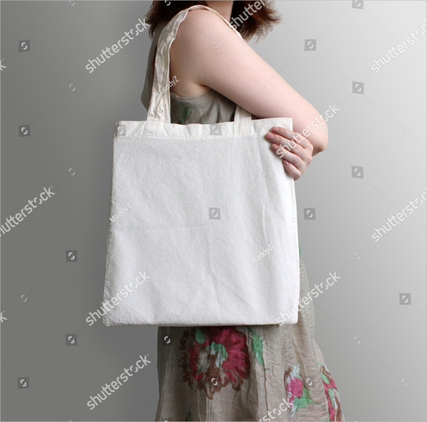 Cotton Eco Tote Bag Design Mockup