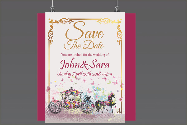 Dream Wedding Card Template