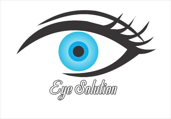 Eye Solution Logo Template