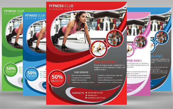 Fitness And Gym Poster Template