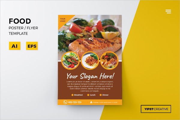 PSD Food Flyer Design