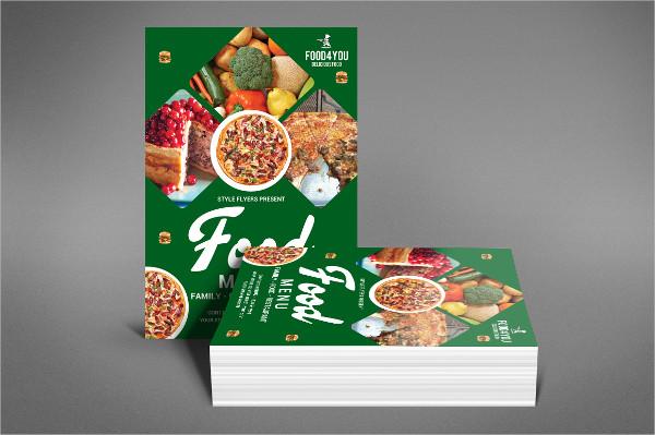 Food Flyer Design Template