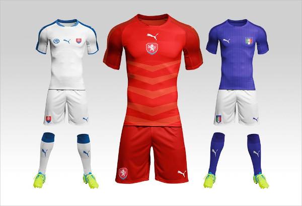 Football or Soccer Kit Mock-Up Free