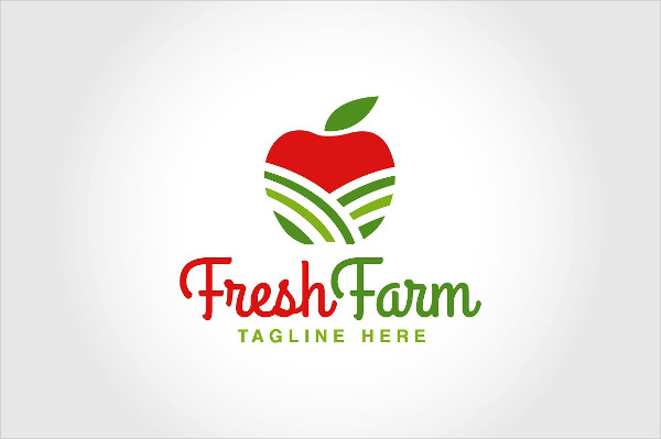 Fresh Farm Logo Template