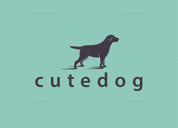 Friendly Dog Logo Template