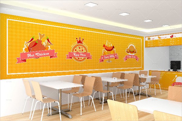 Fully Editable Restaurant Branding Mockups