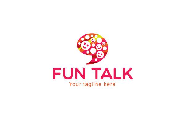 Fun Talk CommunicationStock Logo Template