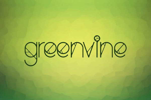 Greenvine Display Font