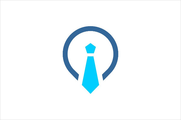 Branding Tie & Pin Logo Template