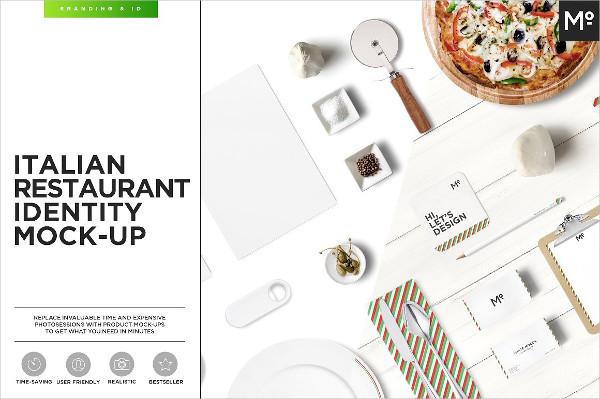 Italian Restaurant Identity Mock-Up