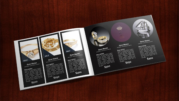 Jewelry Catalog Presentation Brochure