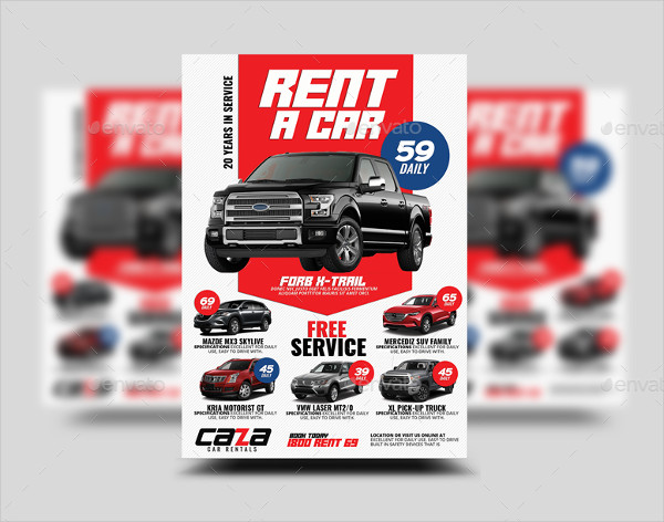 25 Car Rental Flyer Templates Free Premium Download