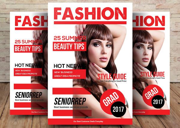 Lifestyle Fashion Magazine Template
