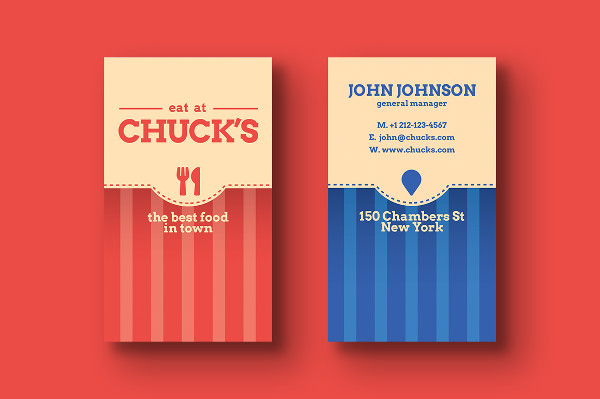 25 restaurant business card templates free premium download local dinner business card templates wajeb Images