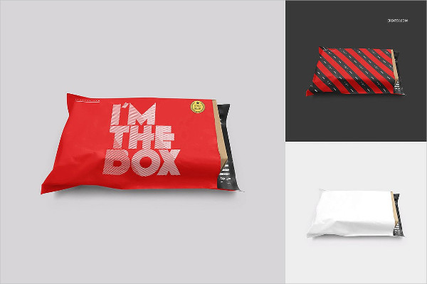 Mailing Bag Mock-Up Set