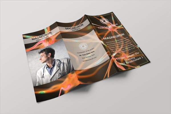 Medical Equipment Brochure Template