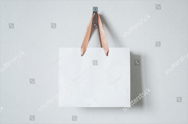 Mockup of Blank Craft Bag
