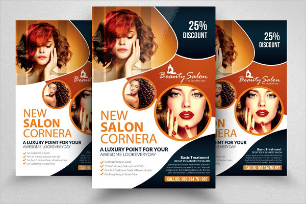 Modern Salon Flyer