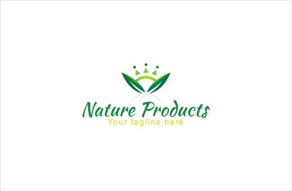 Nature Products Stock Logo Template