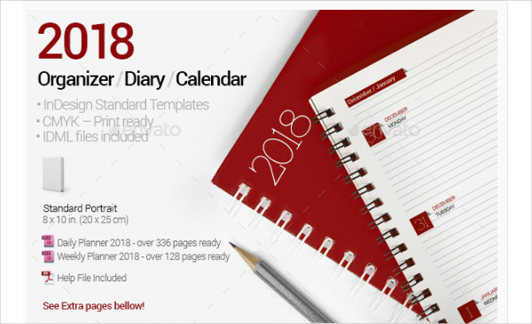 Print Ready Weekly Planner Template