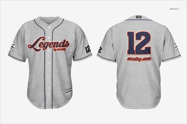 Perfect Baseball Jersey Mockups Set