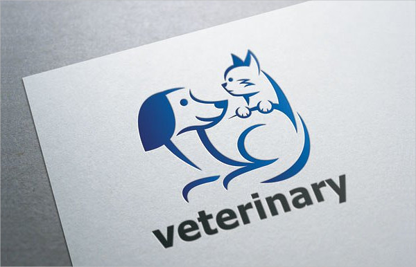 Pet Veterinary Logo Template