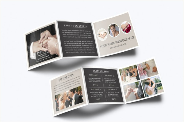 Cool Photography Tri-Fold Brochure Template