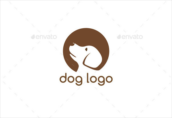 Popular Dog Care Logo Template