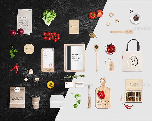 Popular Restaurant Identity Branding Mock-Up