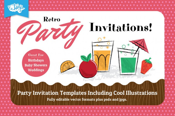 31 Party Invitations Free Psd Ai Eps Vector Format Download