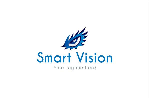 Sharp Eyesight Stock Logo Template